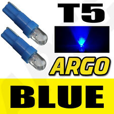T5 286 LED ULTRA BLUE DASHBOARD LIGHT BULBS XENON HID 12V LAMP  DIALS WEDGE CAR