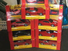 Complete 7 Car Shell V-Power Vrooom Ferrari 1/38 Scale Set