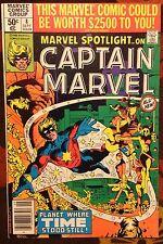 Marvel Spotlight on Captain Marvel #8 Vol.2 (1980) Frank Miller High Grade VF/NM