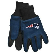 NEW ENGLAND PATRIOTS TAILGATE GAME DAY PARTY UTILITY WORK GLOVES NFL FOOTBALL
