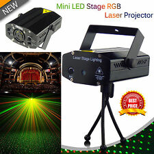 LED DJ Disco Stage Club Pub Party Sound Activated Laser Lights by Trimming Shop