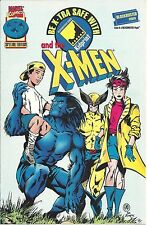 RARE X-MEN GIVEAWAY PROMO BLOCKBUSTER BE X-TRA SAFE NM KIDPRINT SPECIAL EDITION