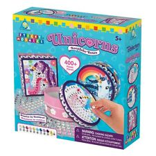 The Orb Factory 67618 Sticky Mosaics® Schmuckkästchen Unicorn Keep Sake Boxes