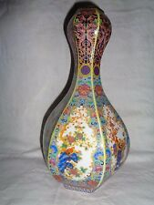 Old Chinese  hand work paint & cloisonne flowers & birds porcelain vase