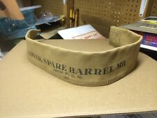 Military Canvas Spare Barrel M8 Gun Part Rifle Cover Case World War 2 WWII 1943