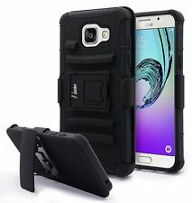 Belt Clip Defender Holster Hybrid Armor Case For Samsung Galaxy A5 2nd Gen A510F