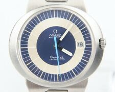 Vintage Omega Ω Men's Stainless Steel Geneve Dynamic Automatic Watch w/ Date