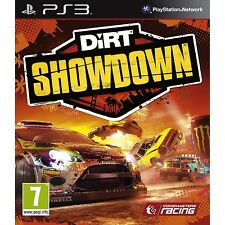 DIRT SHOWDOWN (Playstation 3 PS3 Racing Car Rally Crash Burn Hoon) Brand NEW