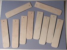 LARGE BOOKMARKS PYROGRAPHY-BLANK 1.5mmBIRCH FACED PLY-10 FOR £4.99 Free POSTAGE