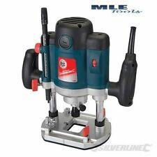 "Silverline Silverstorm 2050W 1/2"" Plunge Router woodwork worshop Joinery 124799"