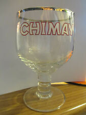 CHIMAY Belgian Ale Stemmed Chalice Style Glass Beer Belgium