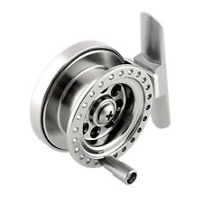 Firm Aluminum Sea Ice Fly Fishing Tackle Line Wheel Skillful Reel Durable