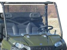 "2016 Polaris Ranger 570 Clear Full Windshield. 1/4"" THICK Lexan Free Shipping!"
