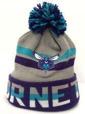 Charlotte Hornets Mitchell & Ness NBA Trifecta Cuff Winter Beanie Knit Cap Hat