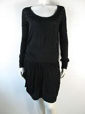 Replay Kleed Kleid Dress Jurk W9632 Nieten Schwarz Neu S