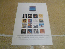 Paul McCartney Paul Is Live Promotional Card/Flyer Beatles