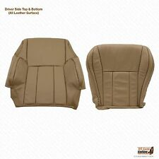 1998 1999 Toyota 4Runner Driver Bottom & Top Lean Back Leather Seat Cover Tan