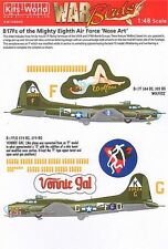 Kits-World 1/48 B-17F Flying Fortress Mighty Eighth Air Force 'Nose Art' 48009