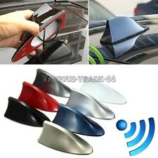 7 Colors Universal Auto Car Shark Fin Roof FM/AM Radio Antenna Aerial Decorate