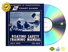 Marine Boater's Diving Boating Safety Collection Manual eBooks On CD
