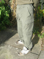 Austrian Army Ripstop Lightweight Cotton Trousers Combat Cargo Military Surplus