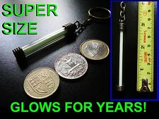 The BIGGEST TRITIUM KEYRING / KEY CHAIN ON EBAY!! Glow In The Dark Self Powering
