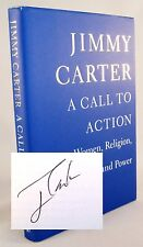 A Call to Action PRESIDENT JIMMY CARTER SIGNED AUTOGRAPHED Book As-New NICE!