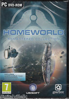 Homeworld Remastered Collection 1 + 2 with bonus content Brand New Sealed