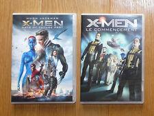 Lot DVD X-MEN : Days of future past et Le commencement
