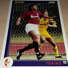 CARD SCORE 1993 TORINO SILENZI CALCIO FOOTBALL SOCCER ALBUM