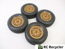 (4) Tamiya 1.9 #0445534 Wheels Tires CC-01 Jeep Wrangler (26 mm) Pajero Unimog