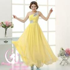 Hot Chiffon Evening Formal Party Ball Gown Prom Bridesmaid Long Dresses
