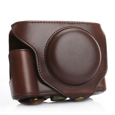 PU Leather Camera DSLR Protective Case Bag Cover for Fujifilm Fuji X70 Coffee