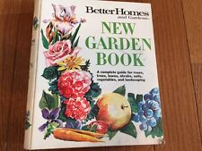 New Garden Book by Better Homes and Gardens Vintage 1974 2nd Edition 6th Print