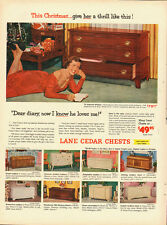 1950's Vintage ad for Lane Cedar Chests~multiple styles pictures (110913)