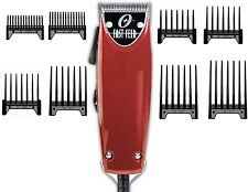 Oster Professional Adjustable Blade Fast Feed Pro Salon Clipper+8-pc comb New