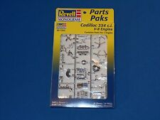 Revell Monogram Cadillac 354 C.I. V-8 Engine Parts Pack New Mint In Box! 1/25 Sc