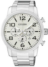 Citizen Mens AN8050-51A. Stainless Steel Chronograph with a Date Function.