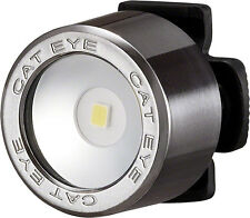 CATEYE NIMA 2  BLACK CHROME BICYCLE HEAD LIGHT