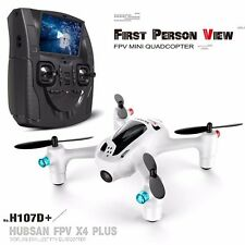 "Hubsan FPV X4 Plus H107D+ 2.4G Mini Quadcopter w/720P HD Cam+4.3""LCD Transmitter"