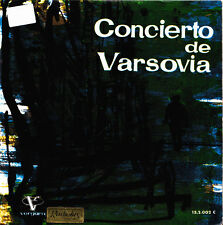 ORQUESTA DE LA RADIO BAVARA-CONCIERTO DE VASOVIA PART 1 Y 2 SINGLE VINILO 1961