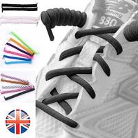 *UK Seller* Curly Elastic Shoelaces No Tie Disability Mobility Kids Shoe Laces