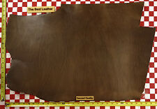 "Authentic Horween 9 to 10 Oz Chromexcel Natural Leather 30"" x 20"" Nat. Quality"
