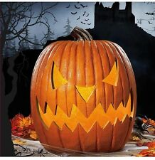 Halloween Pumpkin Lantern Flickering Led Motion Sensor jack Light,sound 51cm 20""