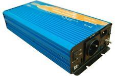 Convertisseur pur sinus 12V/220V 600W/1200W avec chargeur