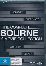 The COmplete Bourne 4 Movie COllection DVD NEW Identity Supremacy Ultimatum