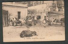 unmailed post card- Tanger - Porteurs d'eau Pits Arabe/water carriers people