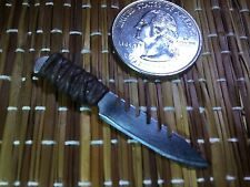 """Paracord Tactical 8"" 1:6 Scale Knife Custom Steel Miniature By Auret"
