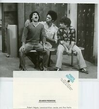 ROBERT HEGYES LAWRENCE-HILTON JACOBS RON PALILLO WELCOME BACK KOTTER ABC PHOTO