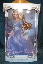 "Disney Limited Edition LE Cinderella Live Action Movie Film 17"" Doll NEW!"